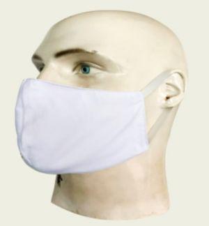 Máscara Social Antiviral e Antibacteriano de Proteção Permanente - Cor Branca