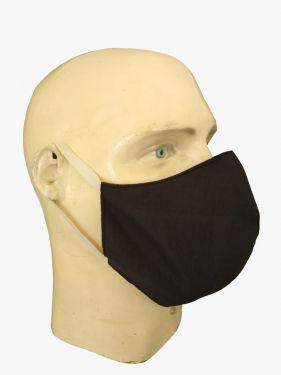 Máscara Social Antiviral e Antibacteriano de Proteção Permanente - Cor Preta