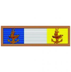 Barreta - Mérito Acanto Bronze – 2 Folhas