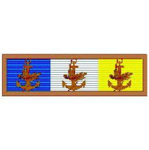 Barreta - Mérito Acanto Bronze ( 3 Folhas )
