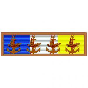 Barreta - Mérito Acanto Bronze (4 Folhas)