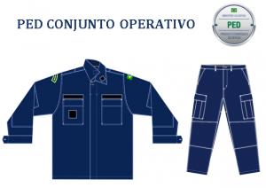 PED CONJUNTO OPERATIVO-AZUL-FERRETE-P